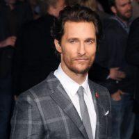 Matthew McConaughey dejó crecer su barba de una manera sutil y elegante. Foto:Getty Images