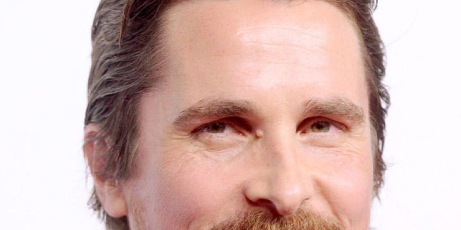 Christian Bale ya la usaba antes de que se pusiera de moda. Foto:Getty Images