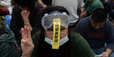 FOTOS: Así terminaron las protestas de la #UmbrellaRevolution en Hong Kong