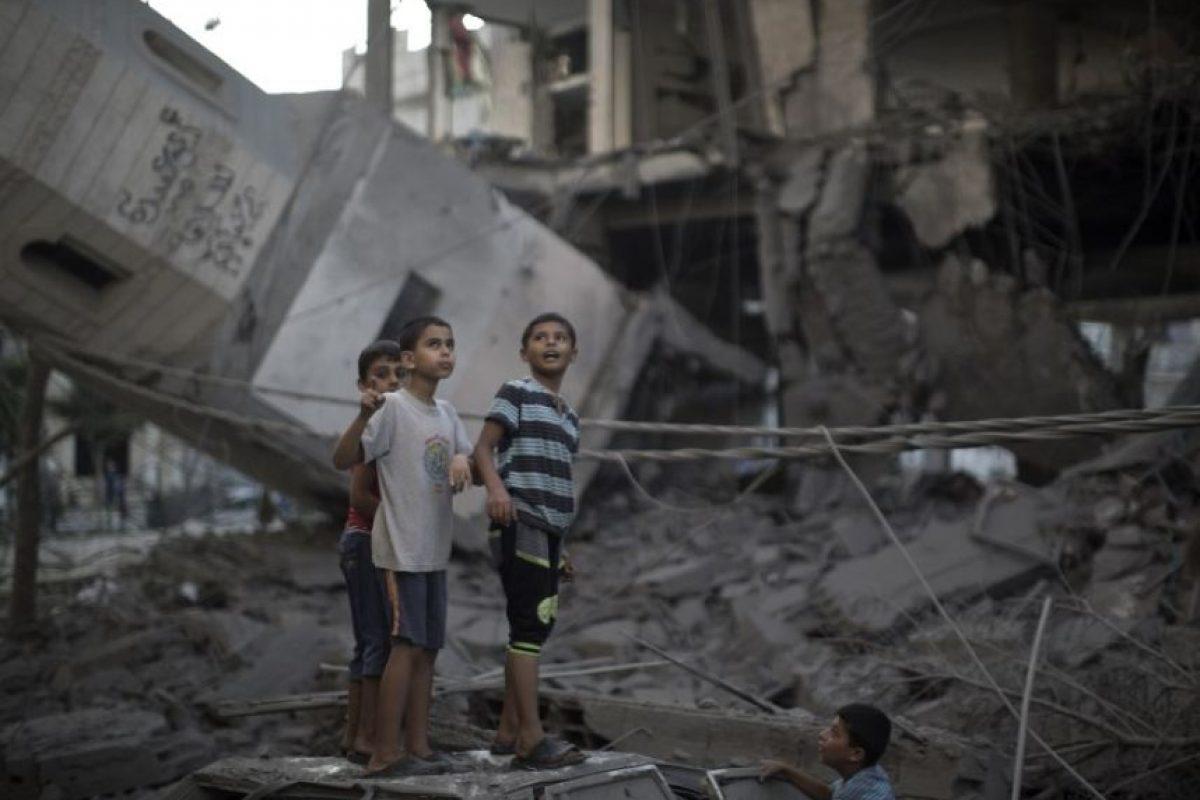 El conflicto en la Franja de Gaza fue otro de los eventos que captaron la atención a nivel mundial Foto:AFP