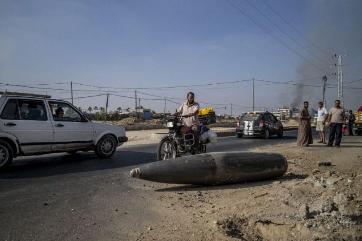 La guerra de 50 días tuvo como resultado más de dos mil palestinos fallecidos, incluyendo 400 niños Foto:AFP