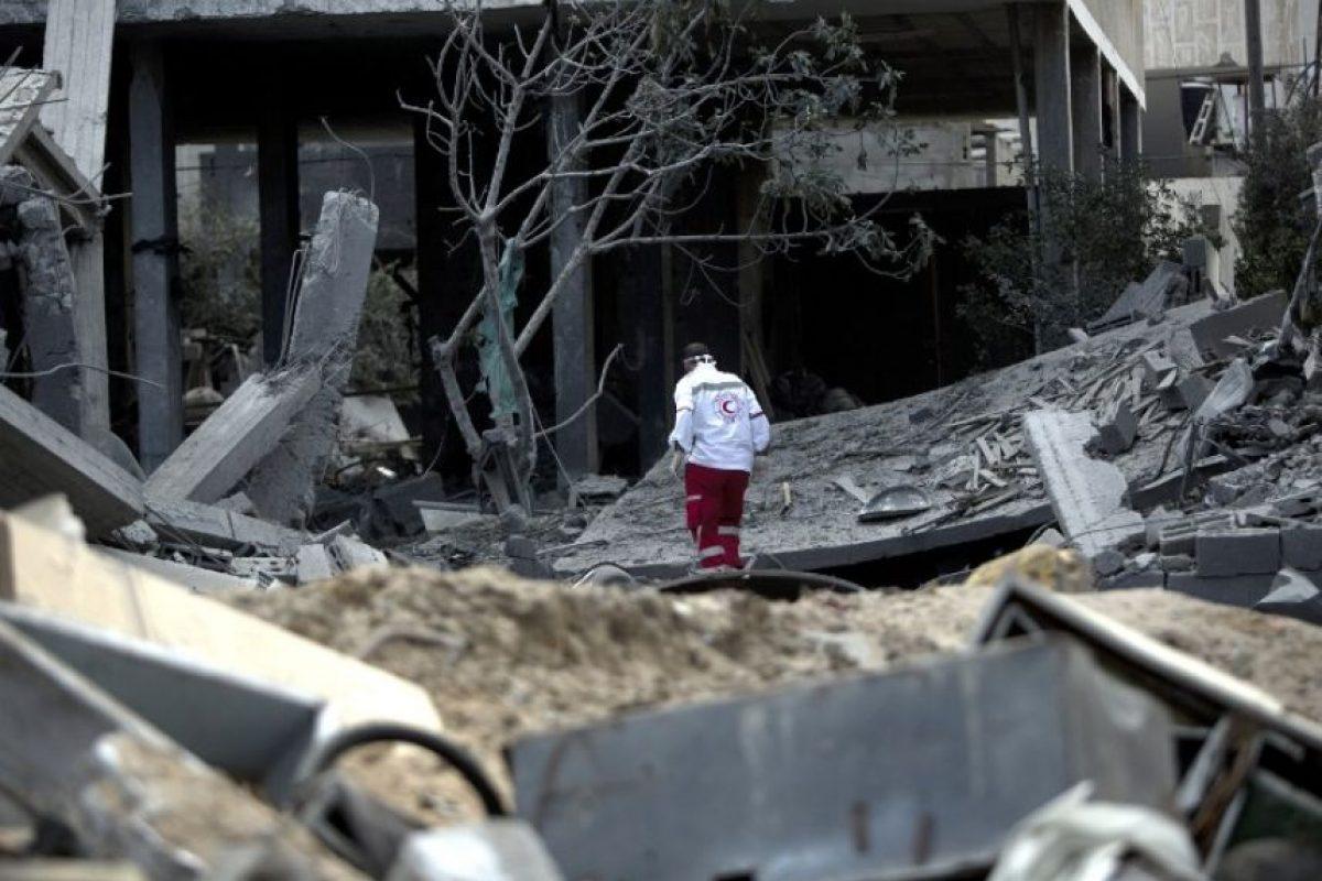 El conflicto en la Franja de Gaza Foto:AFP