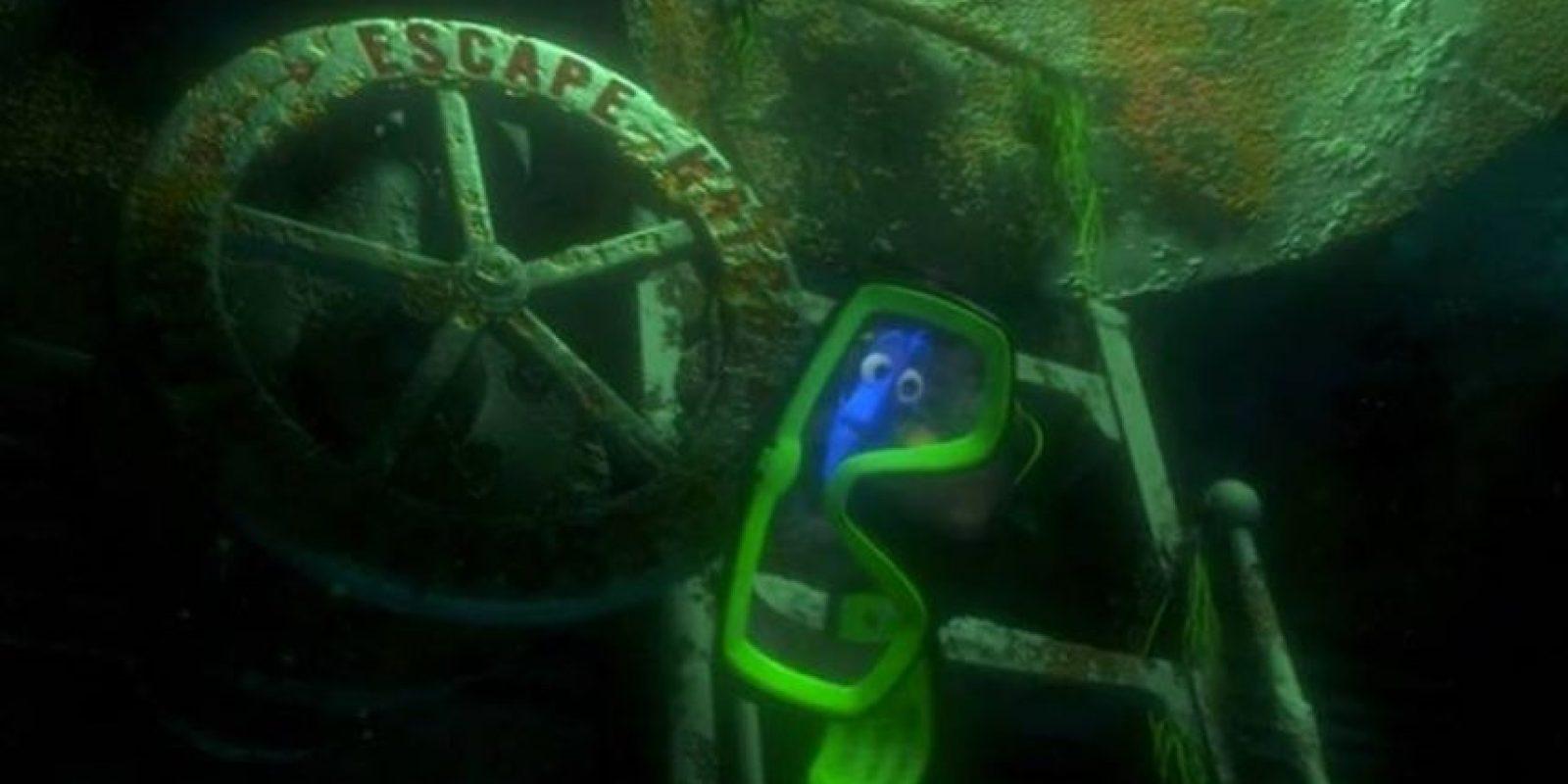 Dory es un pez cirujano que padece problemas de memoria. Foto:Facebook/Dory