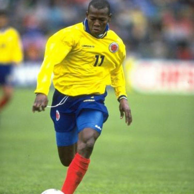 Asprilla de igual forma militó en clubes como el Palmeiras y el Fluminense de Brasil. Foto:Getty Images