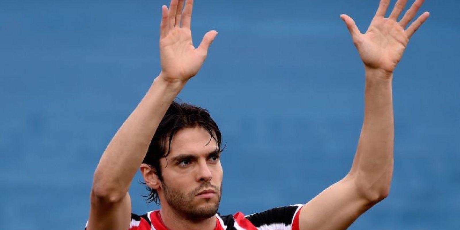 Kaká agradeció el apoyo de los fans del Sao Paulo. Foto:Getty Images