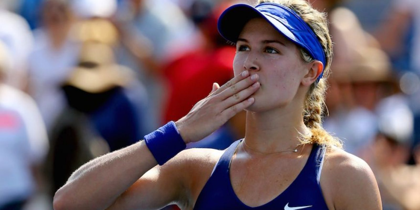 Eugenie Bouchard – Tenista. Foto:Getty Images
