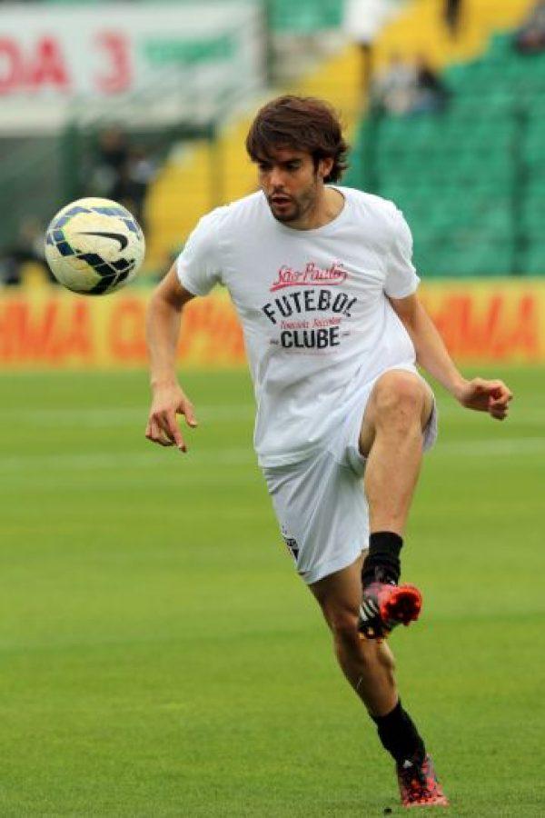 Kaká se separó en noviembre pasado de su esposa Caroline Celico. Foto:Getty Images