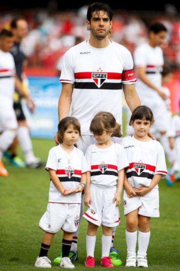 El jugador de 32 años de edad comentó que su corazón siempre estará en el Sao Paulo. Foto:Getty Images