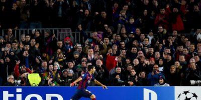 Fue la tercera anotación en el triunfo 3-1 del Barça sobre el PSG Foto:Getty