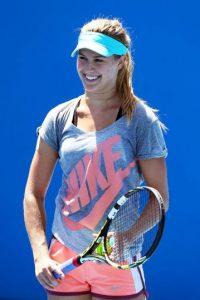 Bouchard ocupa el séptimo puesto en el ranking de la WTA y fue nombrada como la jugadora con mayor progreso del 2014. Foto:Getty Images