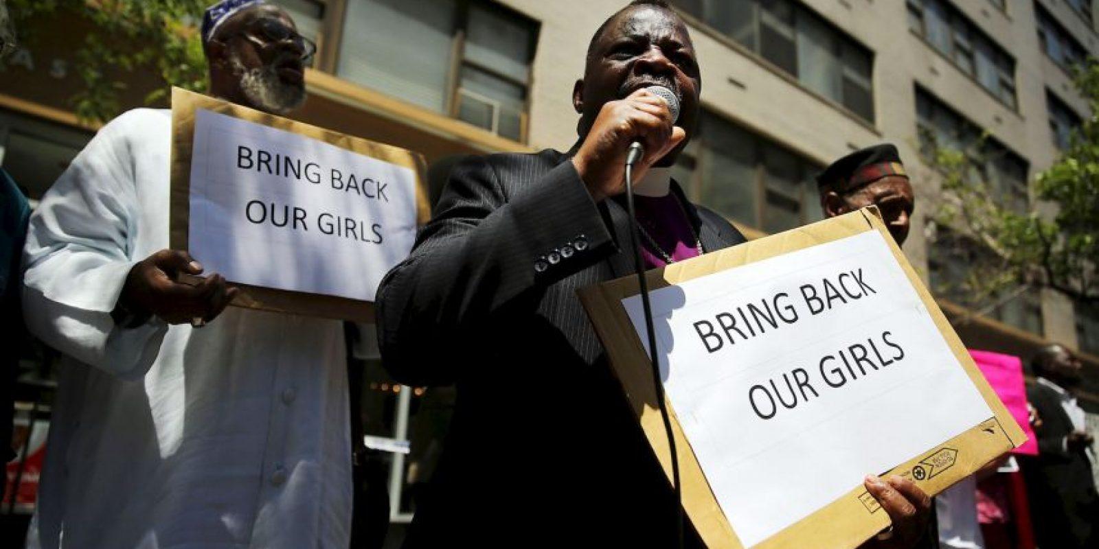 Boko Haram y el #BringBackOurGirls por el secuestro de más de 200 niñas Foto:Getty Images