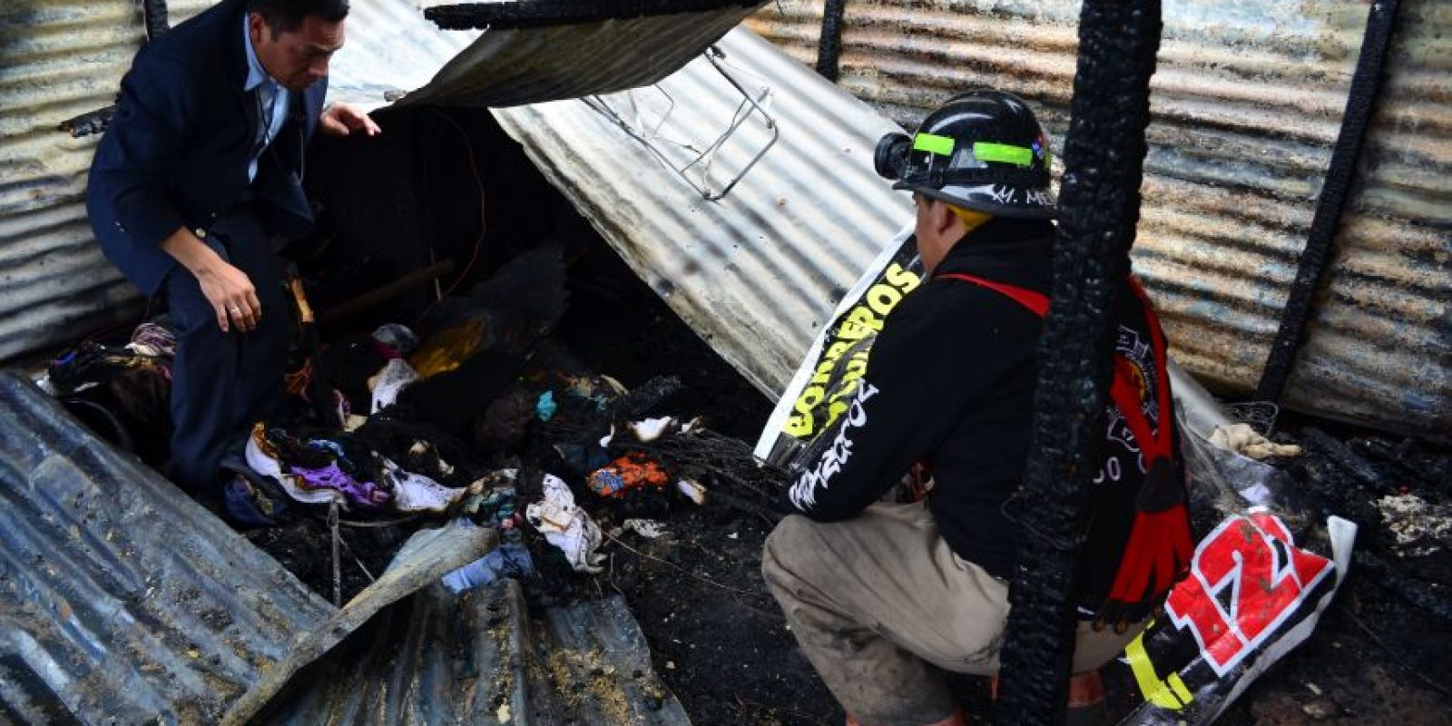 Los hermanos murieron debajo de una pila. Foto:CVB