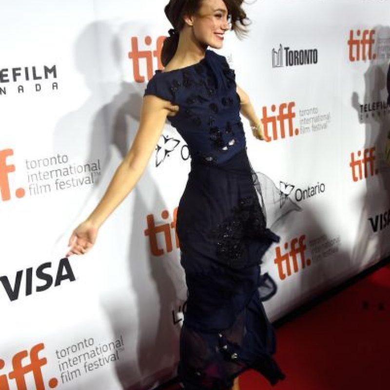 La actriz suele usar vestidos más ajustados. Foto:Getty Images