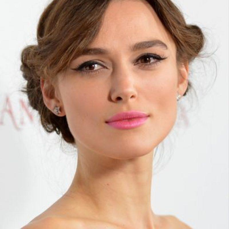 """De esta manera, la actriz es reconcida por su papel en la cinta """"The Imitation Game"""" junto Benedict Cumberbatch Foto:Getty Images"""