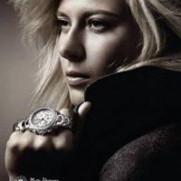 La tenista rusa ha modelado para diversas empresas, desde relojes hasta ropa deportiva. Foto:Tag Heuer
