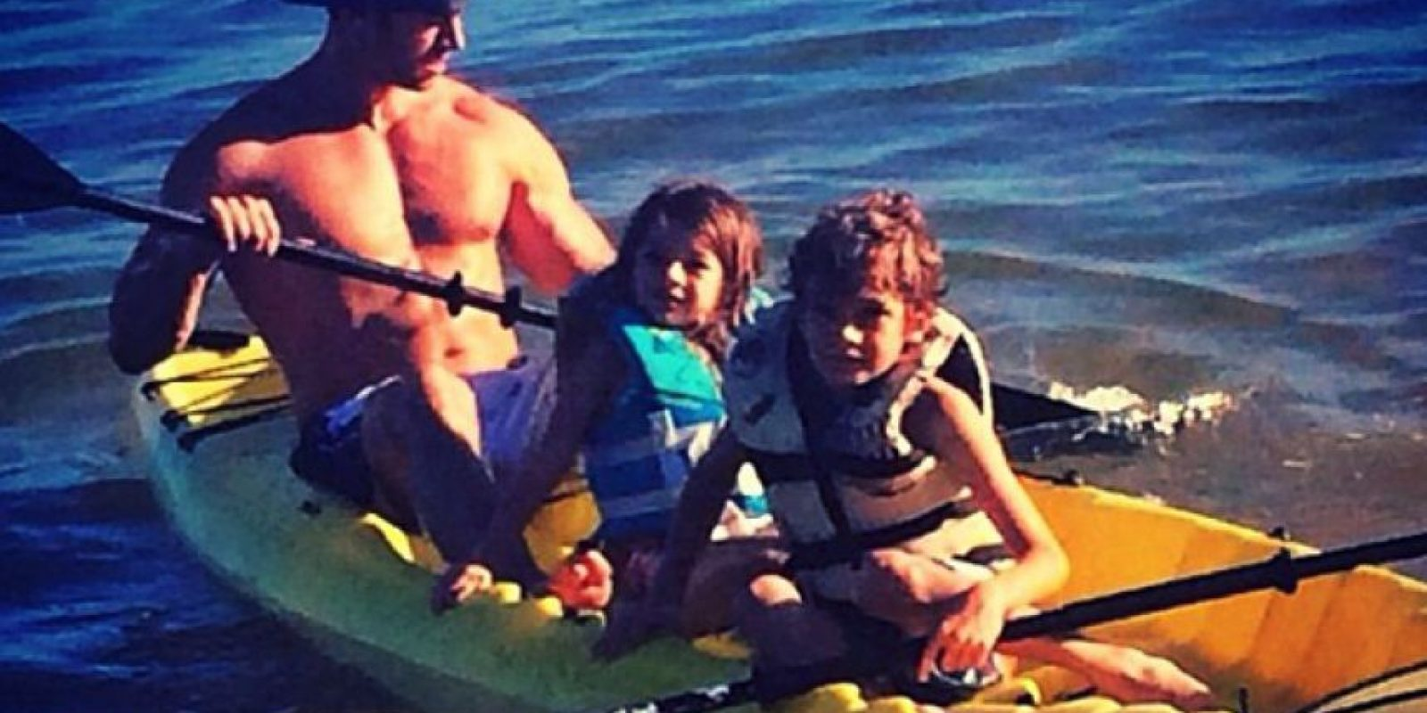 William junto a sus hijos Foto:Instagram/William Levy