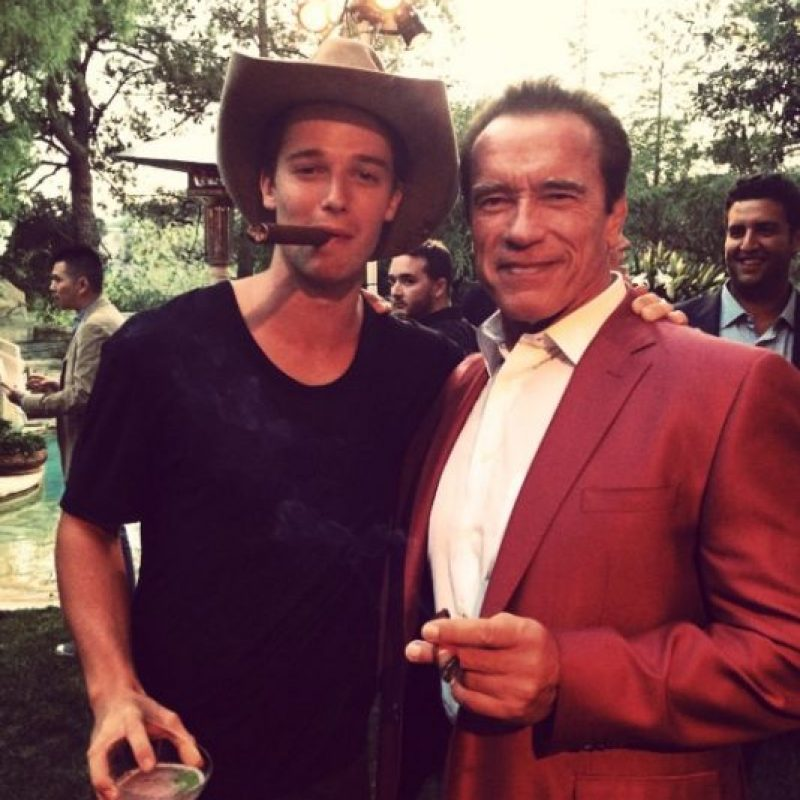 Patrick es una persona antidrogas que pertenece a la realeza americana. Foto:Instagram/Patrick Schwarzenegger