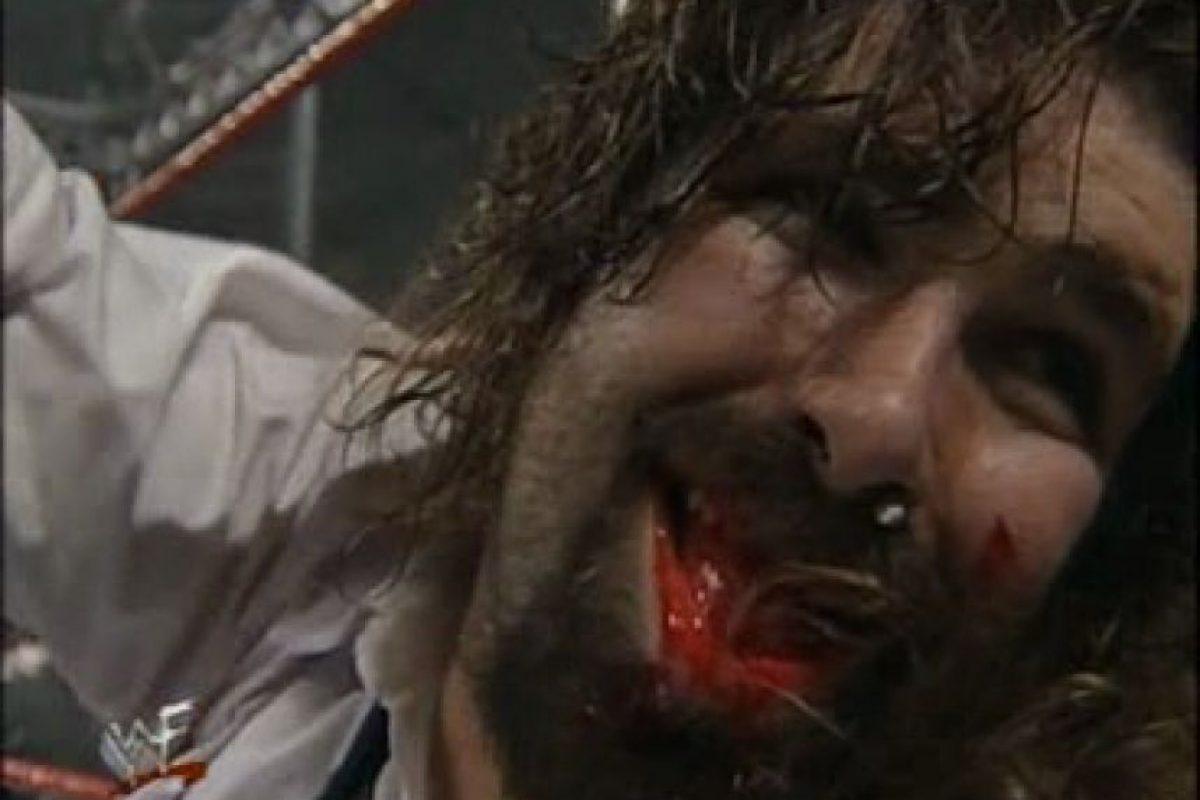 Ganó fama por su lucha hardcore Foto:WWE