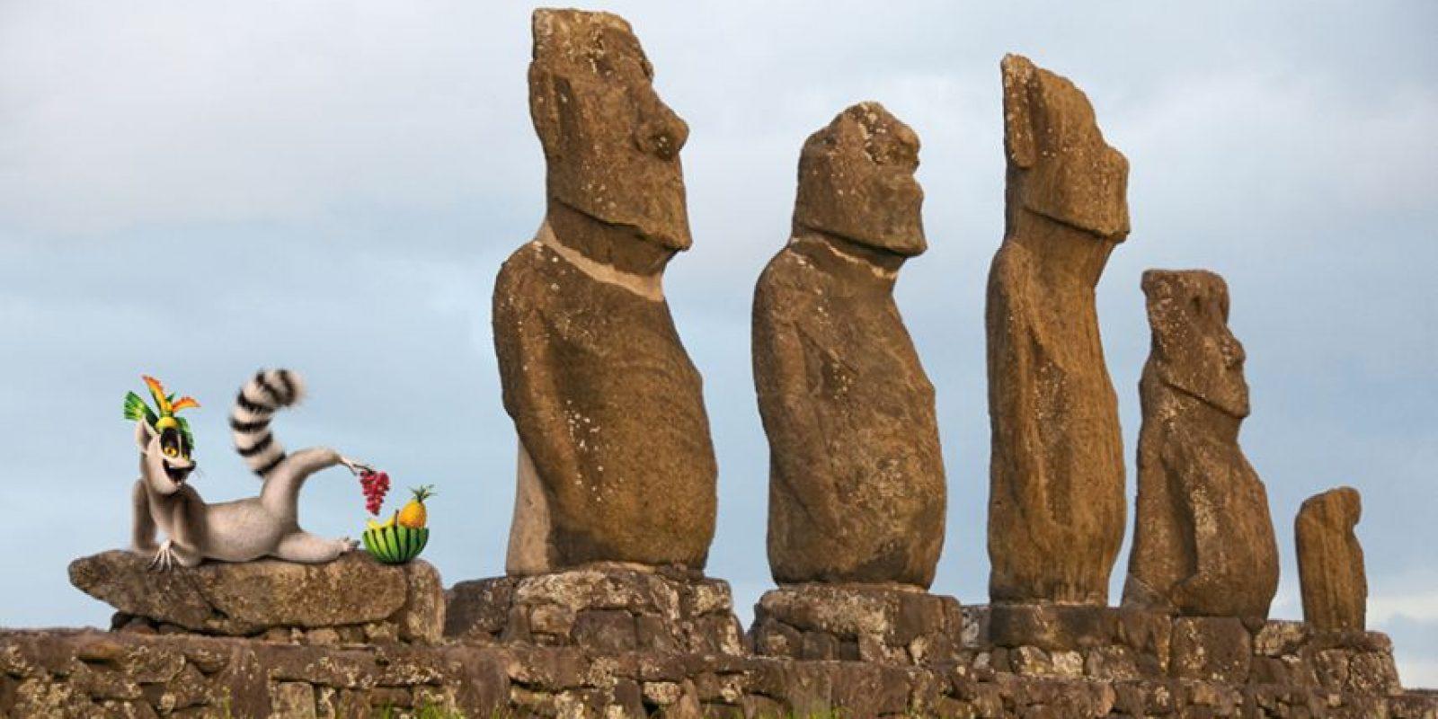 Isla de Pascua, Chile Foto:Dreamworks