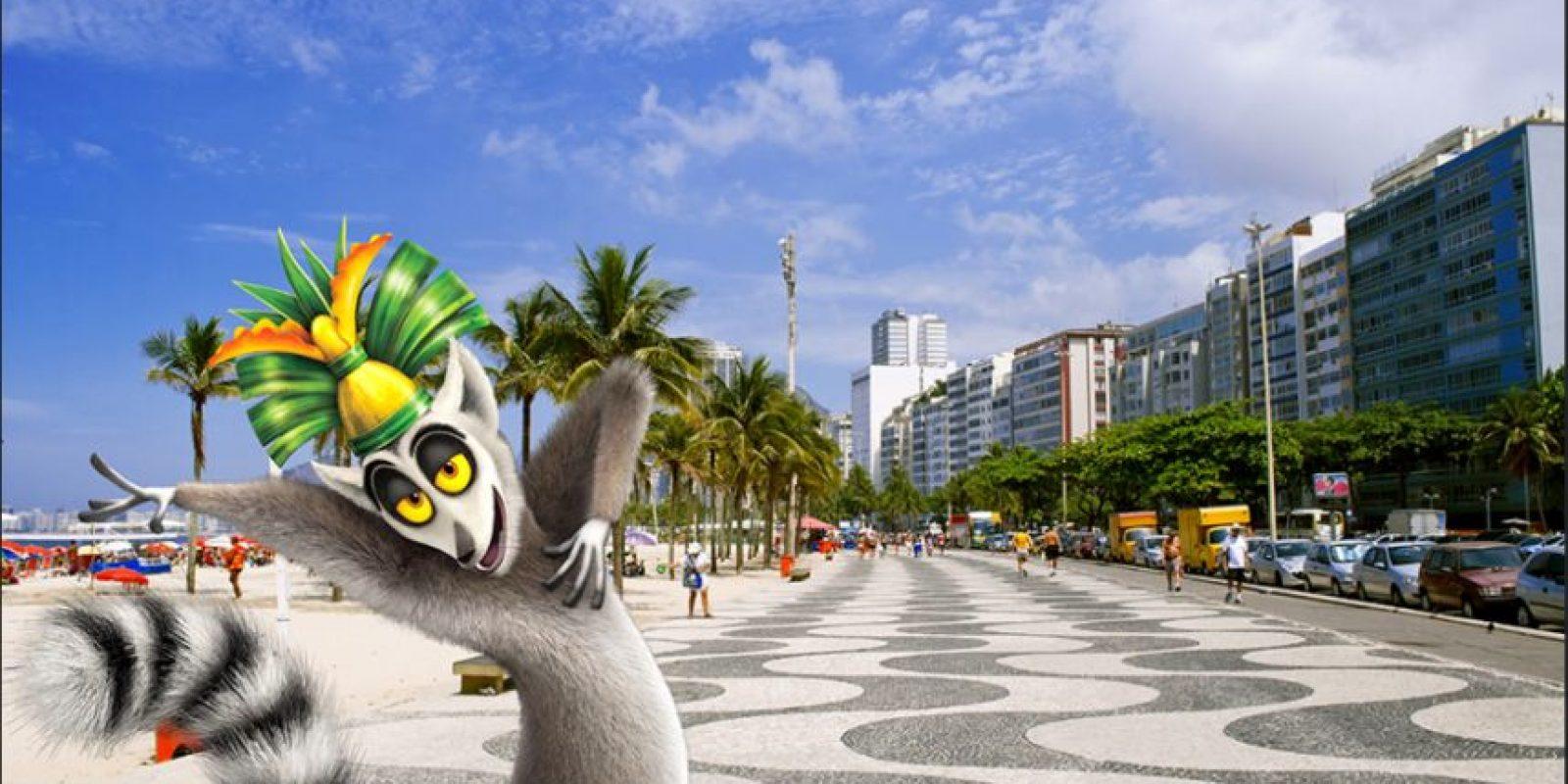 Copacabana, Brasil. Foto:Dreamworks