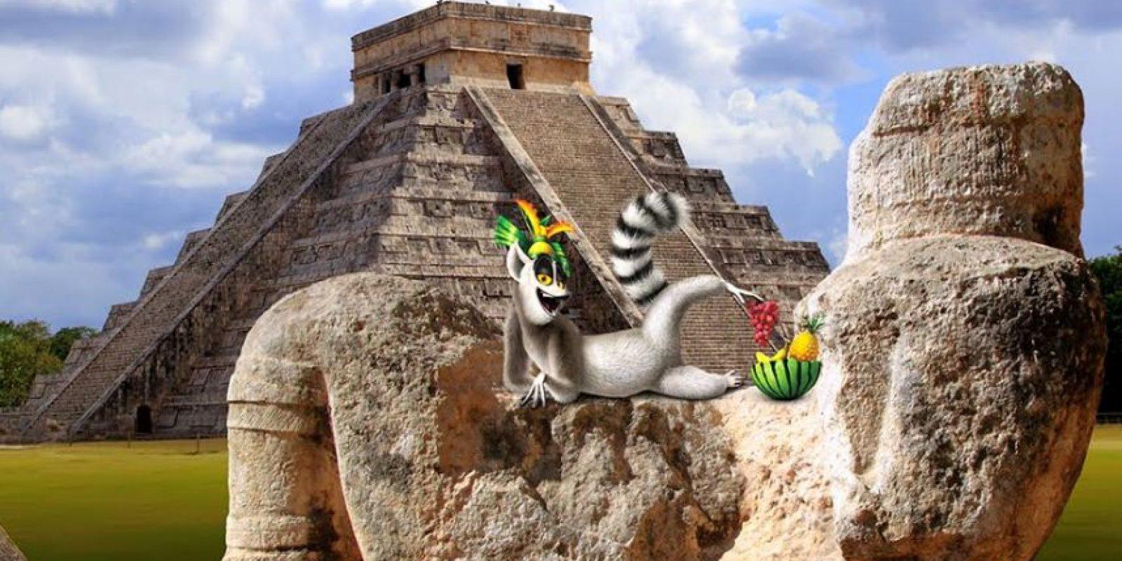 Chichén Itzá, México. Foto:Dreamworks