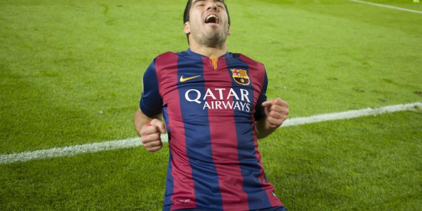 Fue la tercera anotación en el triunfo 3-1 del Barça sobre el PSG Foto:Ramón Mompió
