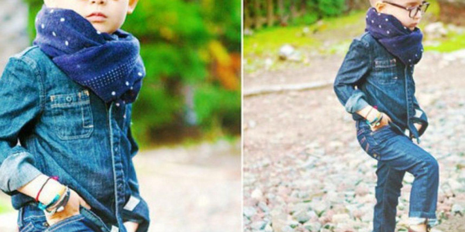 Niños fashionistas de Instagram Foto:Instagram