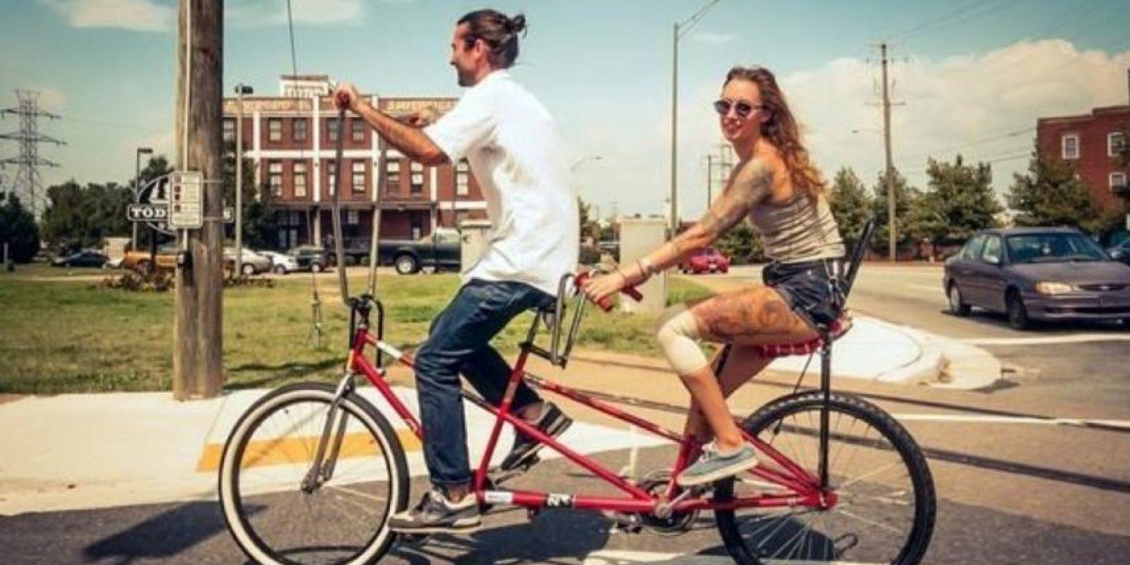 Por supuesto, el amor hacia las bicicletas y todo lo que se generó alrededor de ellas. Foto:Instagram