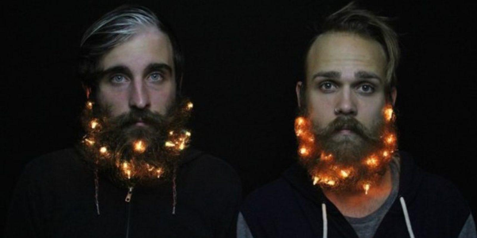También lo hicieron con luces. Foto:Instagram