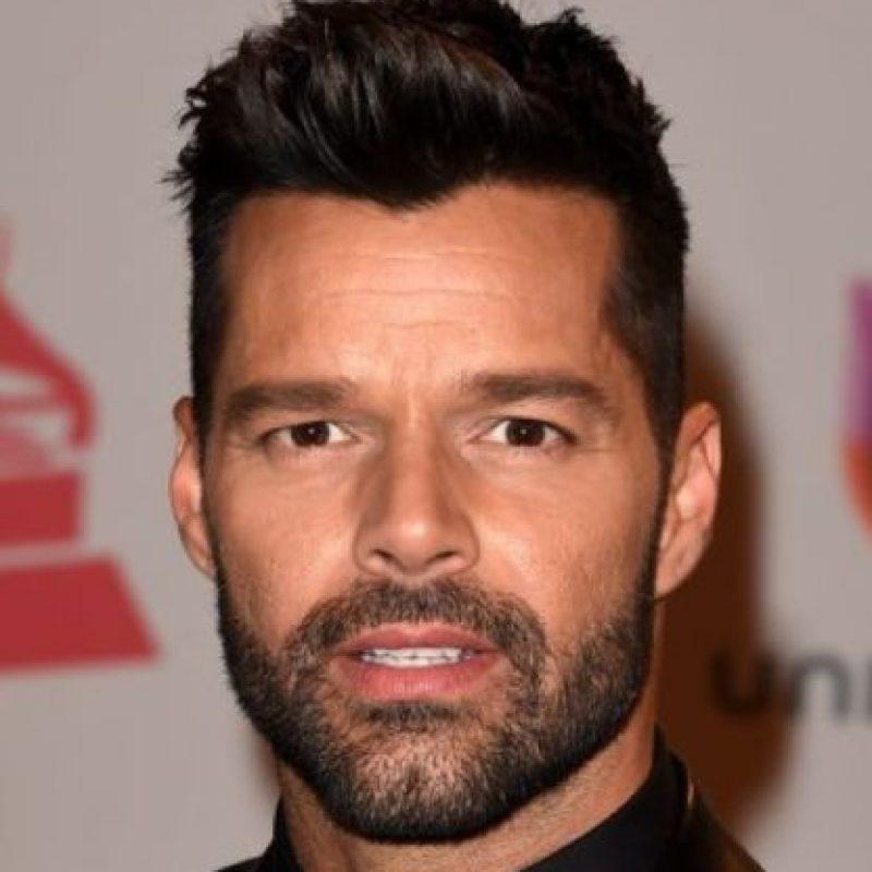 No, Ricky Martin no se hizo cirugía plástica. Foto:Getty Images