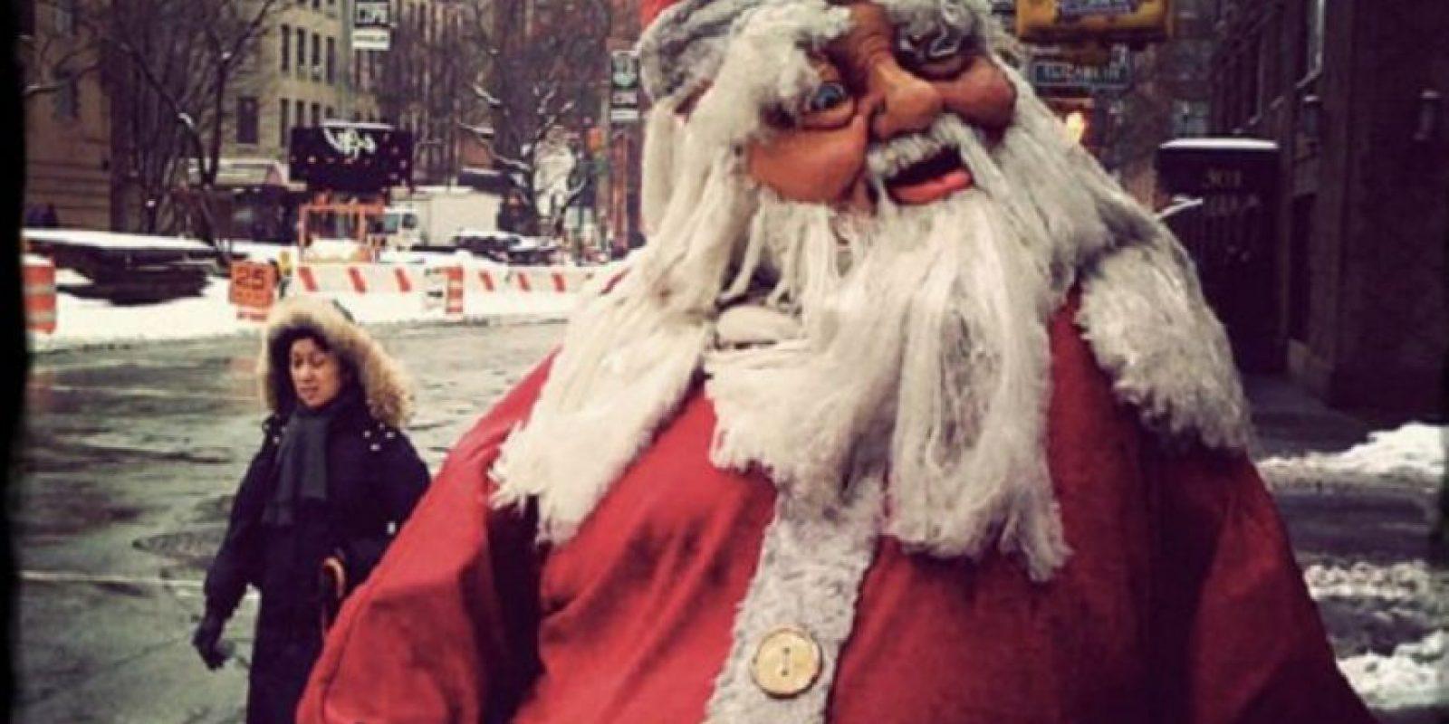 Otro Santa del infierno dispuesto a robarse su corazón. Foto:Imgur