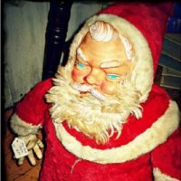 Santa salió del infierno para vengarse. Foto:Imgur