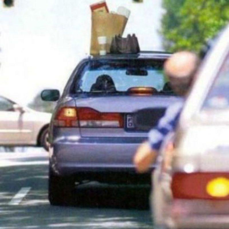 No quería que el auto oliera a hamburguesa Foto:Know your Meme