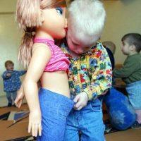 Muy curioso desde niño. Foto:Tumblr.com/Taggad-fotos-graciosas