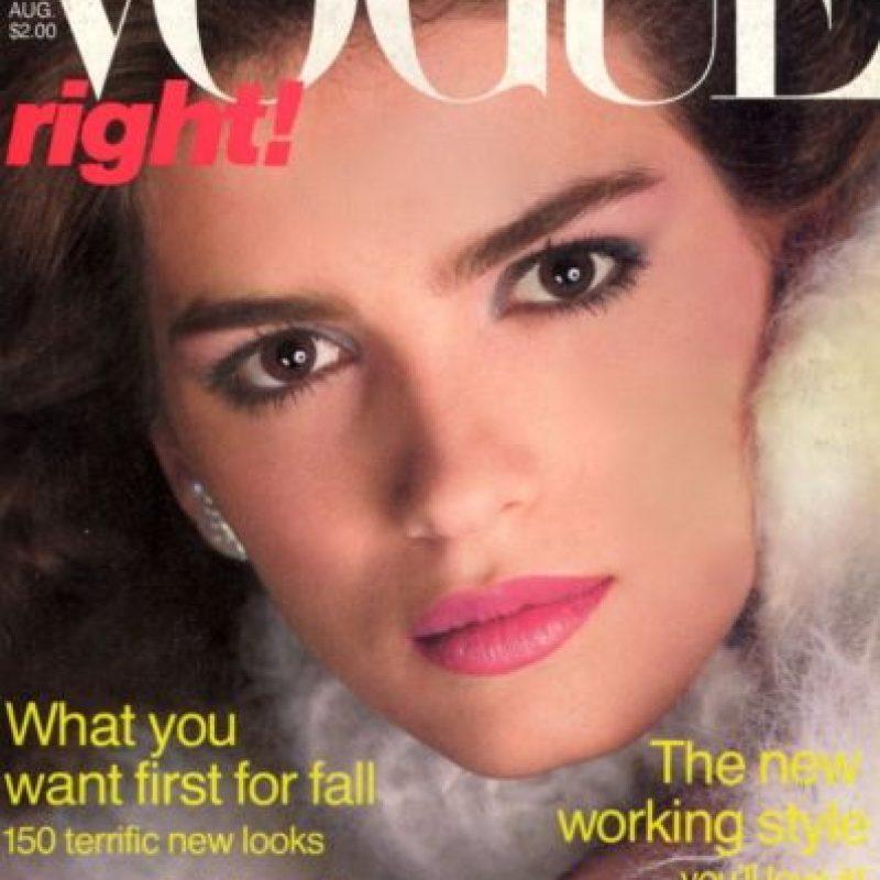 Fue una de las primeras supermodelos, pero el consumo de drogas arruinó su vida y su carrera. Foto:Vogue