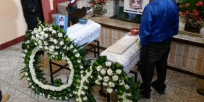 Los niños calcinados serán enterrados en Jalapa