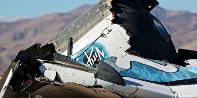 31 de octubre- El avión espacial suborbital SpaceShip Two se estrelló en California durante un vuelo de prueba. Según Europapress, el copiloto falleció en el accidente. Foto:Getty
