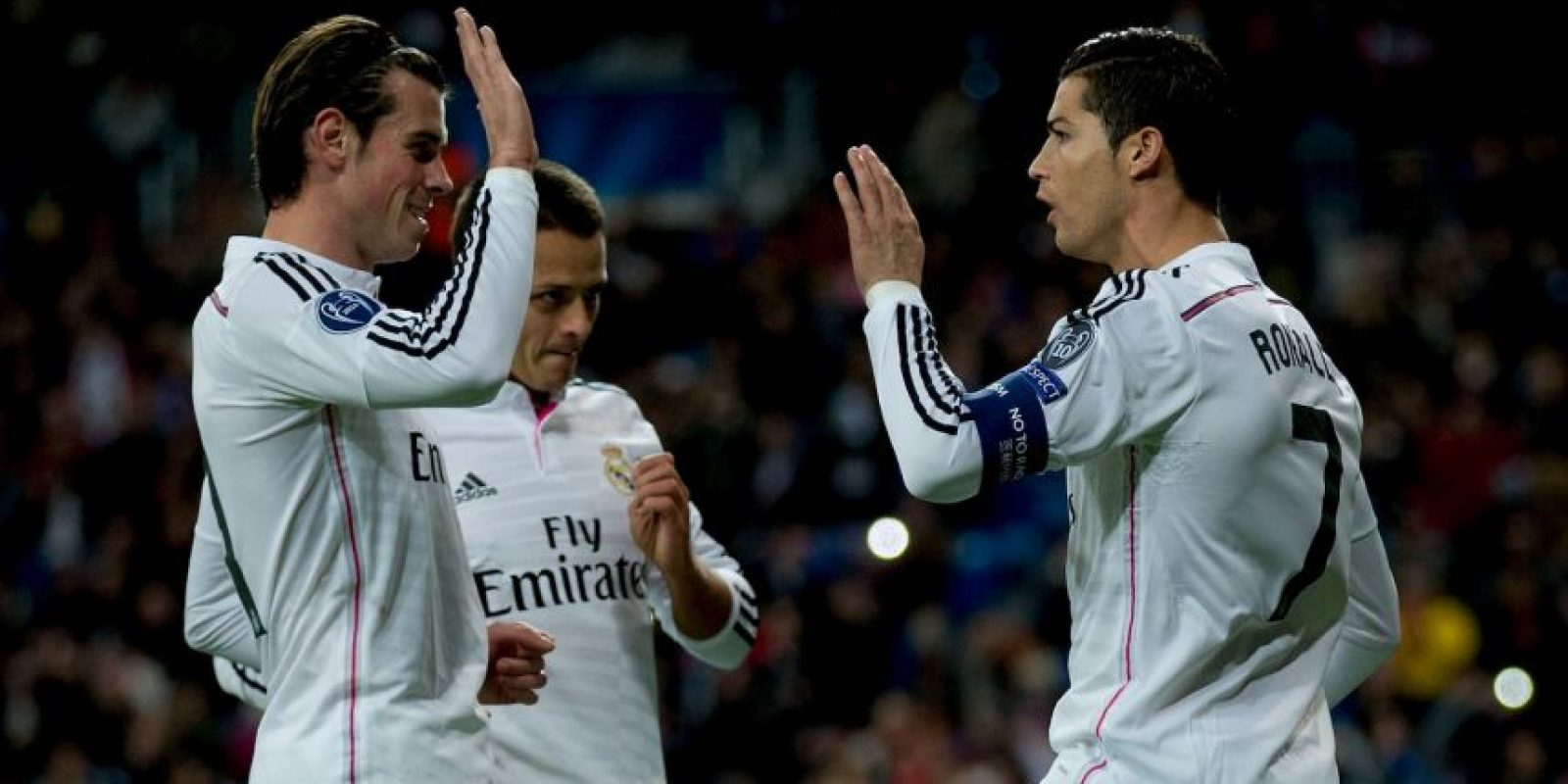 La estrella del Real Madrid también tiene definida esa parte de su cuerpo Foto:Getty