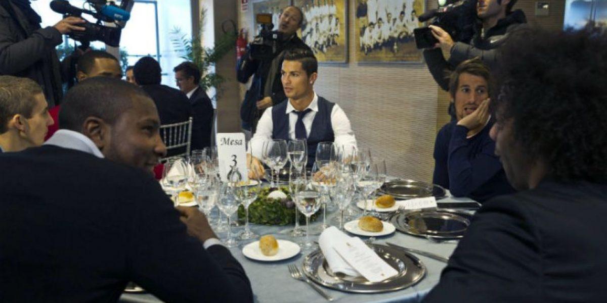 Video. El Real Madrid disfrutó de su cena navideña