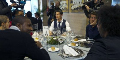 Video. El Real Madrid disfrutó de su cena navideña