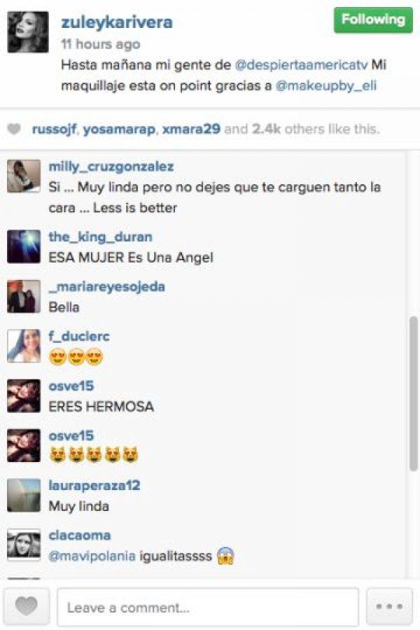 Foto:Vía Instagram @zuleykarivera