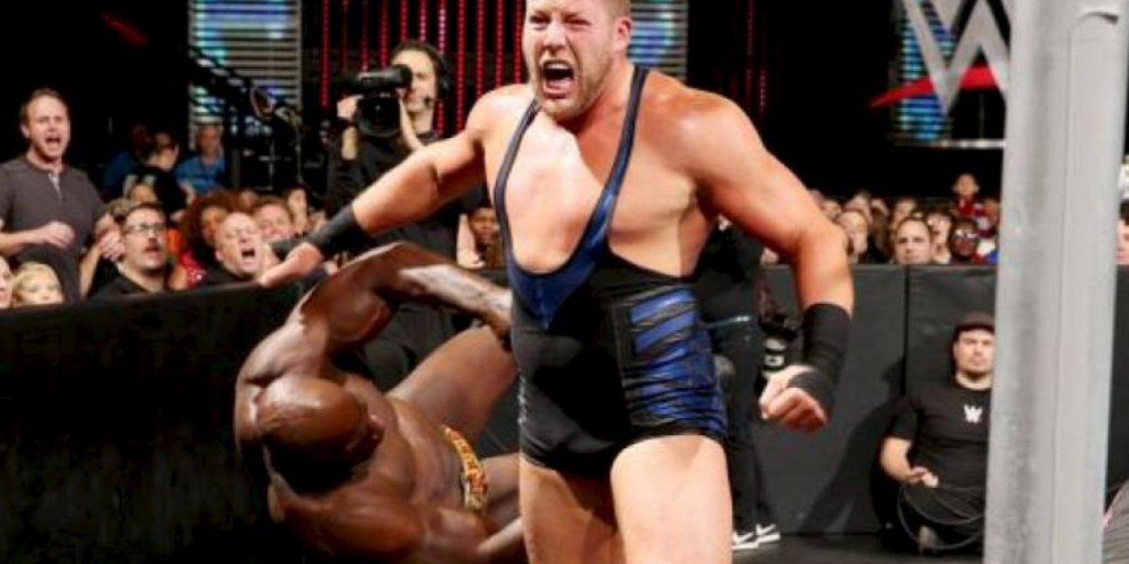 """Jack Swagger: """"Hace poco regresé a estudiar una maestría en Administración de Sistemas de Información. Me gustaría estar en ese campo y ser mi propio jefe"""" Foto:WWE"""