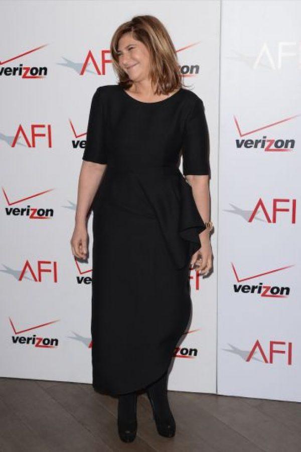 """En el lugar se encontró con la vicepresidenta de """"Sony Entertainment"""", Amy Pascal Foto:Getty Images"""
