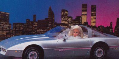 El carro de la Barbie. Este o el rosado. Foto:Mattel