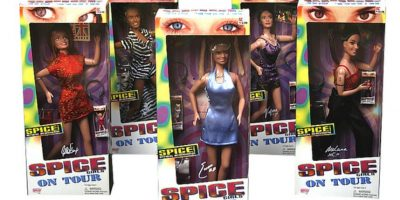 Las muñecas de las Spice Girls Foto:eBay