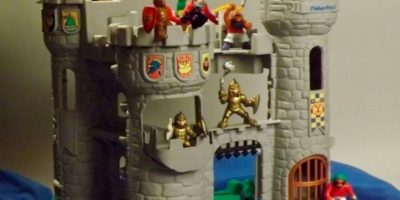 Este castillo de Fisher Price Foto: Fisher Price