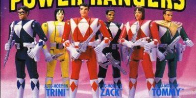 Los muñecos originales de Power Rangers Foto:Imgur