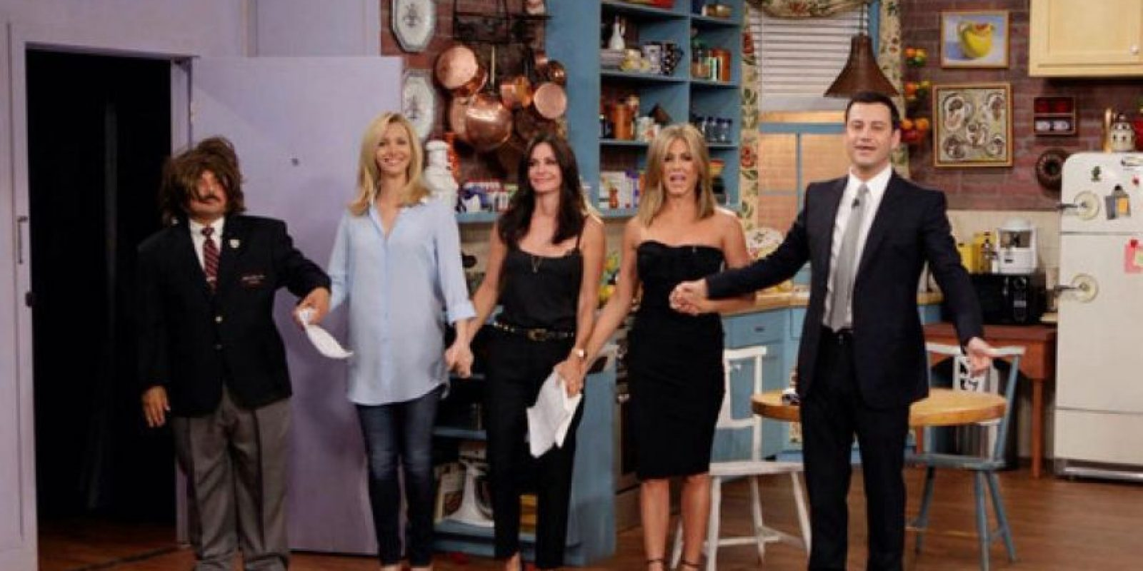 "2014,""Friends"" Foto: ABC"