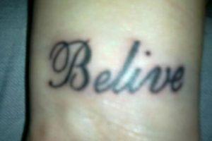 Es creer y se escribe: believe Foto:Know Your Meme