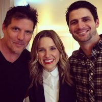 "2014, ""One Tree Hill"" Foto: Instagram Sophia Bush"